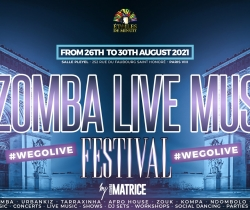 Kizomba Live Music Festival – Paris (Official Event)