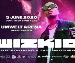 POSTPONED Wizkid Live Concert In Switzerland on 2021